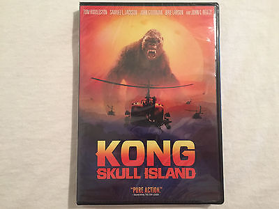 Kong  Skull Island  Dvd   Dvd  2017  Brand New   Free Shipping To The Us