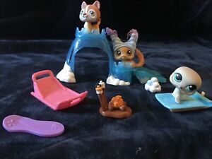 LPS Arctic Winter Set - Littlest Pet Shop
