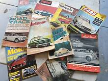 Motoring Magazines back issues from late 1940s 1950s and 1960s Kenmore Brisbane North West Preview