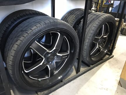 20 inch PDW Wheels and new tyres FORD TOYOTA MAZDA 114.3x5