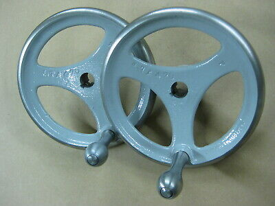 Delta Hand Wheels - For Unisaws And Hd Shapers - Painted With Polished Rims