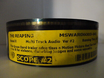 The Reaping 35mm Movie Trailer #2 SCOPE Film Cell Collectibles 2min - Film Halloween 2 Trailer