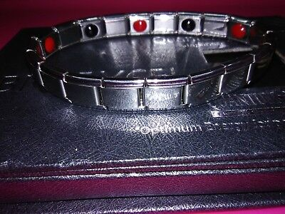 Bioexcel Energy Bracelet Therapy Better Sleep Silver Style Stretch No Clasp