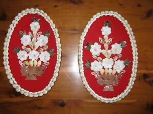 VINTAGE 1970'S WALL HANGING SHELL ART Riverwood Canterbury Area Preview