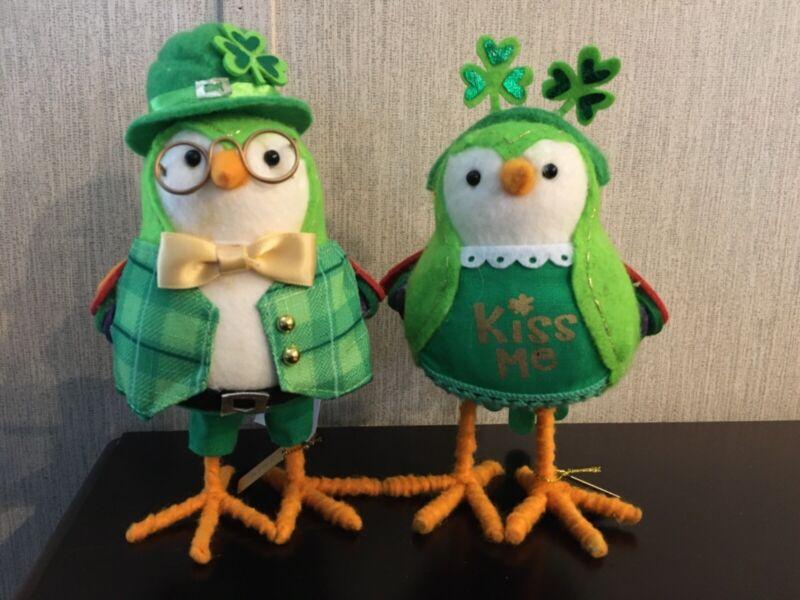 2 TARGET WONDERSHOP Green SPRITZ 2020 ST PATRICKS DAY BIRDS Laddie Lucky