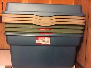 Rubbermaid Totes Storage Containers