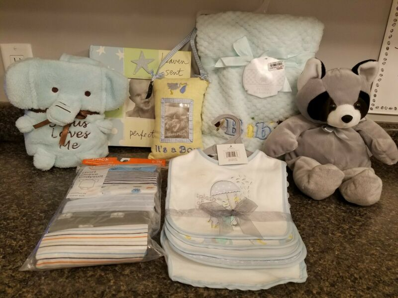 New Welcome Home Baby Boy bundle set baby shower gift set free shipping