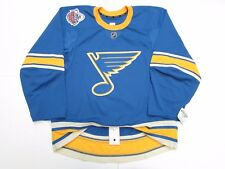 ST. LOUIS BLUES AUTHENTIC 2017 WINTER CLASSIC TEAM ISSUED REEBOK EDGE 2.0 JERSEY