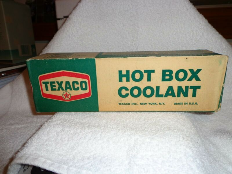 "Vintage Texaco ""Hot Box"" Journal Coolant Railroad Use Hot Box TagsCollectorItem"