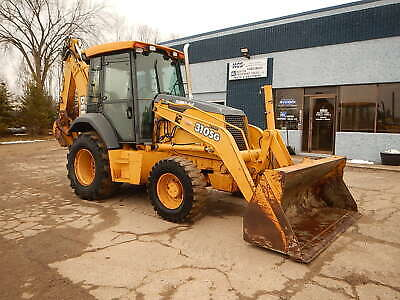 2002 John Deere 310sg 4wd Backhoe Wheel Loader Tractor E-stick Diesel