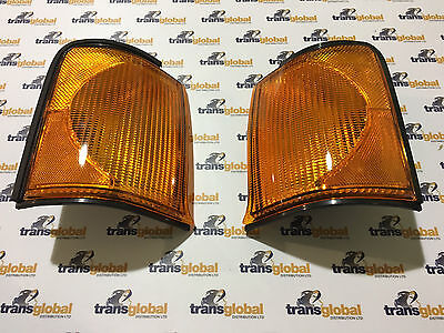Land Rover Discovery 2 Front Amber Indicator Lamps Bearmach XBD100870 XBD100880