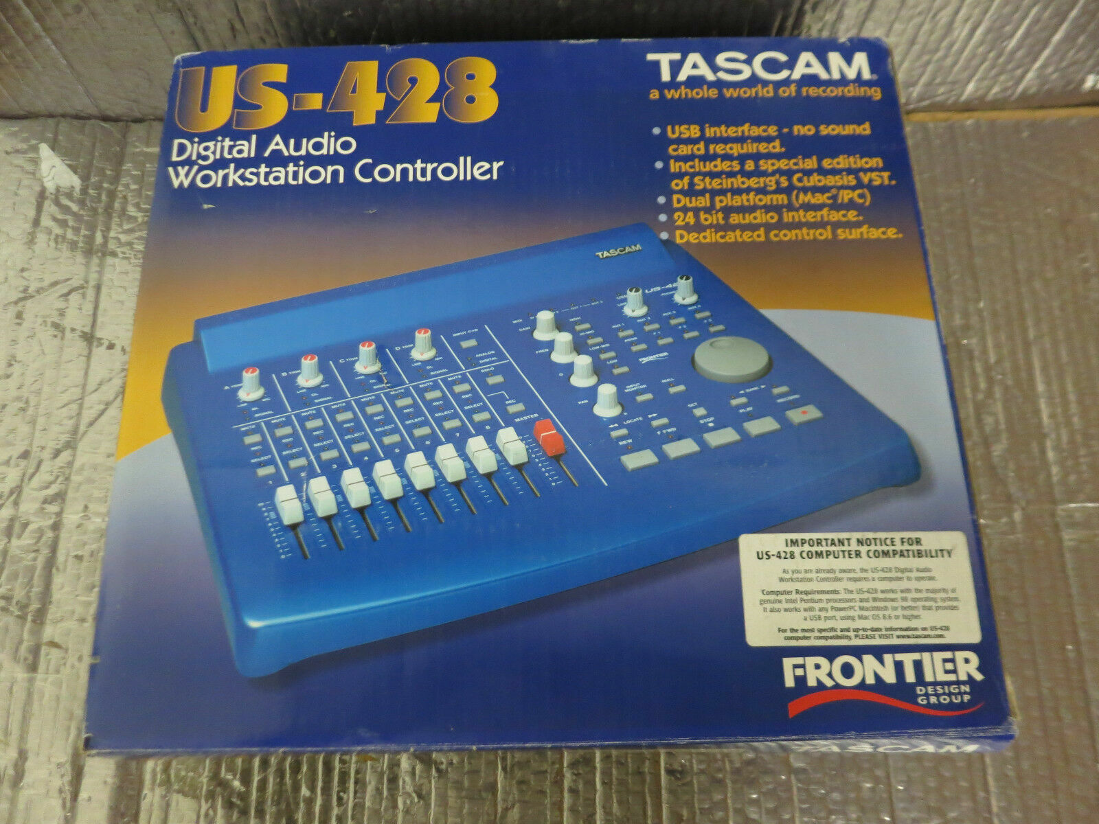 TASCAM US428 WINDOWS 7 X64 DRIVER DOWNLOAD