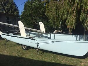 18ft Hobie Cat looking for quick sale. Any reasonable offer welcome. Rosebud West Mornington Peninsula Preview