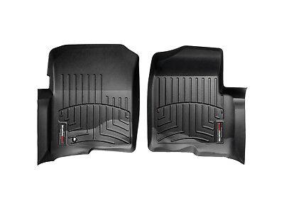 WeatherTech Floor Mats FloorLiner for Ford F-150/Lincoln Mark LT - 1st Row-Black