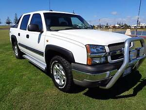 2003 Chevrolet Avalanche Z71 Dual Cab Ute Bunbury Bunbury Area Preview