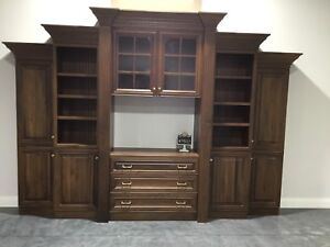 Wall Unit | Buy or Sell Hutchs & Display Cabinets in Barrie | Kijiji ...