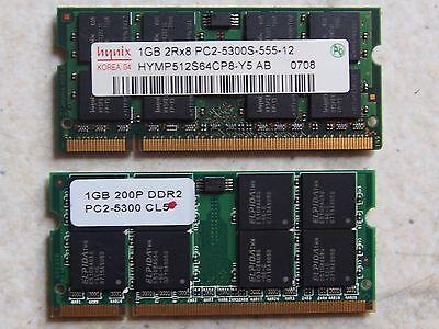 2GB(1GBX2)Hynix OTHER 1GB 2Rx8 Ram