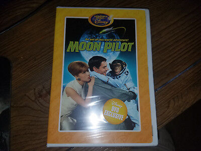 The Wonderful World of Disney MOON PILOT DVD: Brand New!