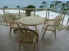 4 Piece PVC outdoor furniture set 3 chairs and table Coffs Harbour Region Preview