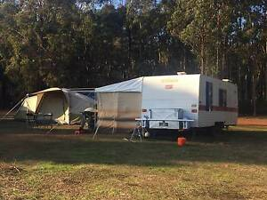 1984 Windsor 20 ft Caravan / Island double bed / Great Condition Armadale Armadale Area Preview
