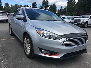 2015 Ford Focus Titanium LOCAL, NO ACCICENETS, LOW KM'S