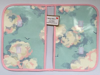 Cath Kidston Handmade 'Clouds' Oilcloth Baby Nappy/wipes Wallet
