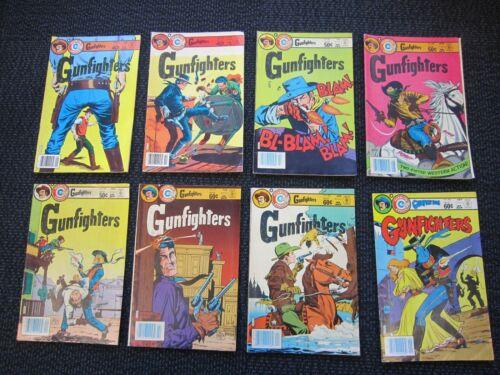 Gunfighters comic lot - 1979, Bill black art and Simon & Kirby