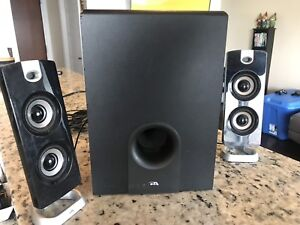 2.1 speakers with sub woofer