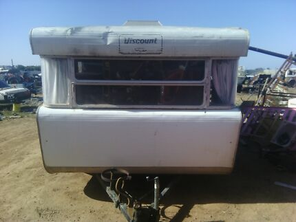 viscount caravan,spare room