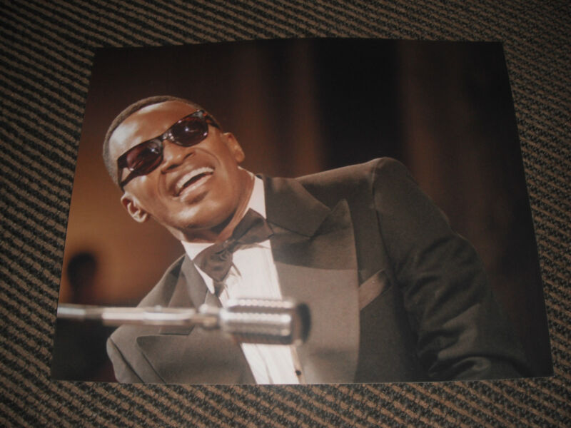 Jamie Foxx Ray Charles Movie Color 8x10 Photo Promo Picture