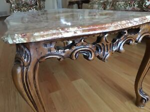 Marble Coffe Table and Side Tables