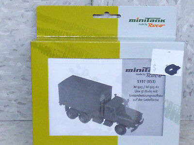 Used, Roco Minitanks (NEW) 1/87 Modern US M-923 / M-925 5T Maintenance Truck Lot 2028K for sale  Shipping to Canada