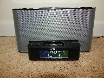 Sony ICF-CS10iP AM/FM Radio Alarm Clock w/ iPod/iPhone Dock