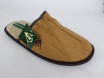 Dunlop Mens Slippers Brown UK 9 EU 43 LN085 KK 05
