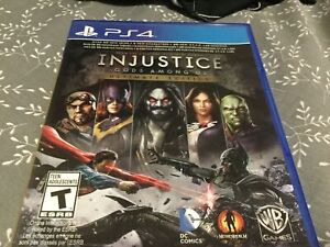 Injustice Gods Among Us   Ultimate Edition   Used