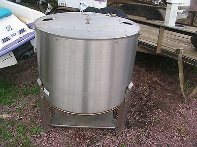Gustafson Stainless Steel Bulk Milk Tank Beer Brewing Equipment Wine