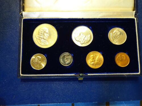 1966 Proof Set South Africa 7 coins