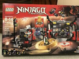 Lego ninjago sog headquarters