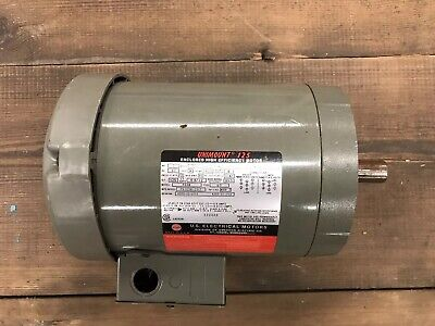 Unimount 125 2hp 3 Phase Motor 3460 Rpm F038