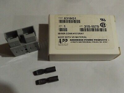 Anderson Sb50 Connector Kit Gray 1012 6319g1 Domestic Shipping Included