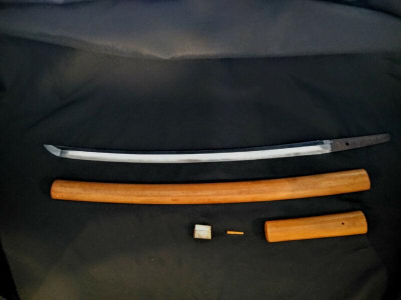 Antique Japanese Samurai Sword Wakizashi - Bitchū no kami Tachibana Yasuhiro