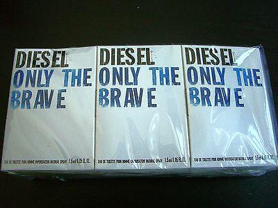 Diesel Only the Brave Lot of 12 Eau de Toilette Spray Vials on a Card