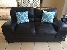 Leather 3 seater & 2 seater lounge suite Burton Salisbury Area Preview