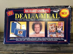 DEAL-A-MEAL  Complete Weight Loss System Richard Simmons