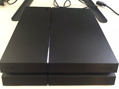 Sony PS4 Console 500GB Black CUH-1215A 3.50 Software (Hackable)