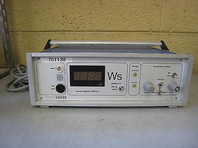 Haas Laser Emdc 86 Industrial Laser Power Meter Energy Measurer Partsrepair
