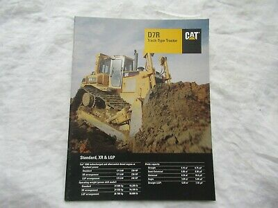 1996 Cat Caterpillar D7r Track-type Tractor Brochure
