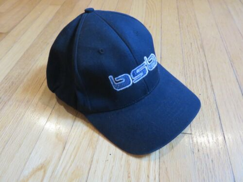 Backstreet Boys Black Baseball Hat Blue Logo