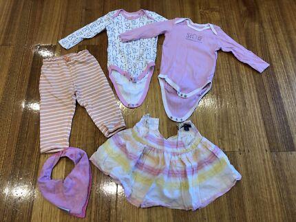 Baby girl clothes bundle, size 0, GUC, GAP, Tom Tailor, Lupilu