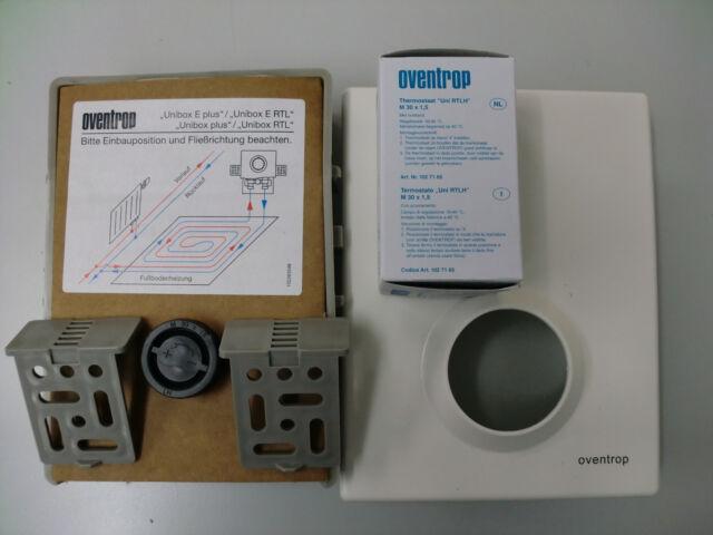 Oventrop  Nr.1022635 Unibox RTL Regler + Thermostat